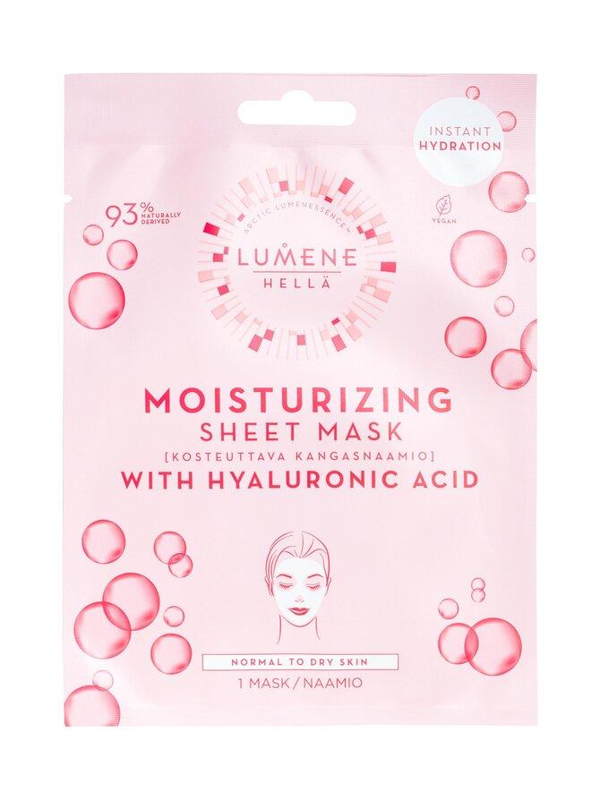 HELLÄ Moisturizing Sheet Mask -kosteuttava kangasnaamio