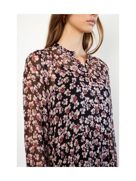 SECOND FEMALE - Fleurir Dress -mekko - 8001 BLACK | Stockmann - photo 3