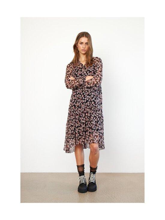 SECOND FEMALE - Fleurir Dress -mekko - 8001 BLACK | Stockmann - photo 5