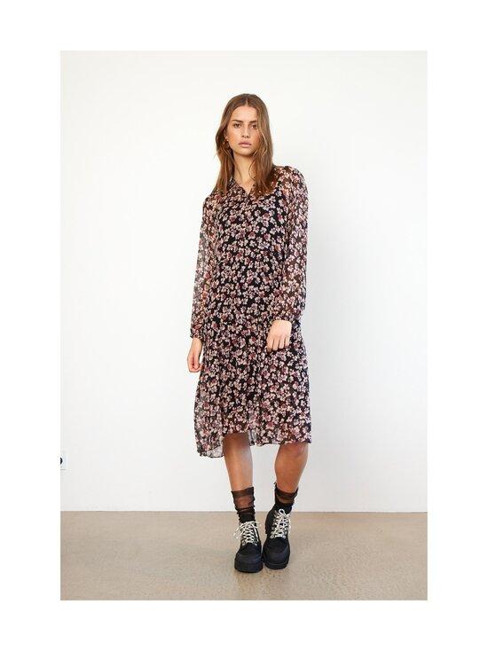 SECOND FEMALE - Fleurir Dress -mekko - 8001 BLACK | Stockmann - photo 7