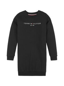 Tommy Hilfiger - Essential Sweat Dress -collegemekko - BDS BLACK | Stockmann