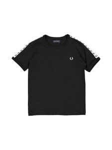 Fred Perry - Taped Ringer -t-paita - 102 BLACK | Stockmann
