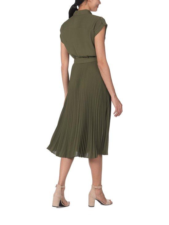 Lauren Ralph Lauren - Pleated Shirtdress -mekko - 2Z0C GREEN   Stockmann - photo 2