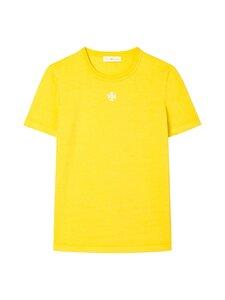 Tory Burch - logo T-paita - GOLDEN YELLOW | Stockmann