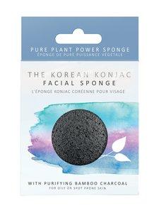 Konjac Sponge - Premium Facial Puff with Bamboo Charcoal -ihonpuhdistussieni - null | Stockmann
