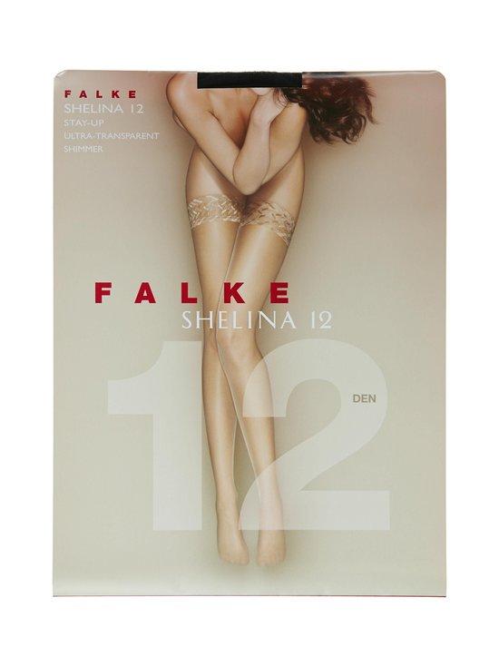 Falke - Shelina-stay-up-sukat 12 den - BLACK (MUSTA) | Stockmann - photo 1