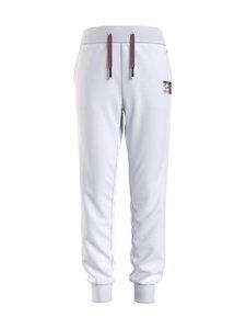 Tommy Hilfiger - Flag Print Sweatpants -collegehousut - YBR WHITE   Stockmann