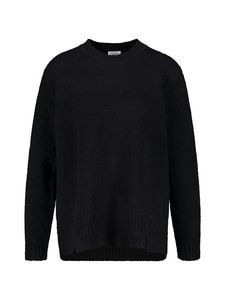 GERRY WEBER CASUAL - Puuvillasekoiteneule - 11000 BLACK | Stockmann