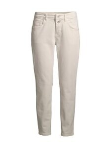 Marc O'Polo - Theda Boyfriend Mid Waist Jeans -farkut - 056 ECRU ORGANIC WASH | Stockmann