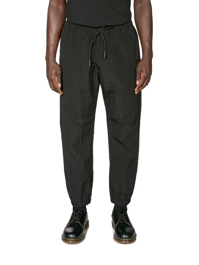Patch Washed Nylon Jogging -housut