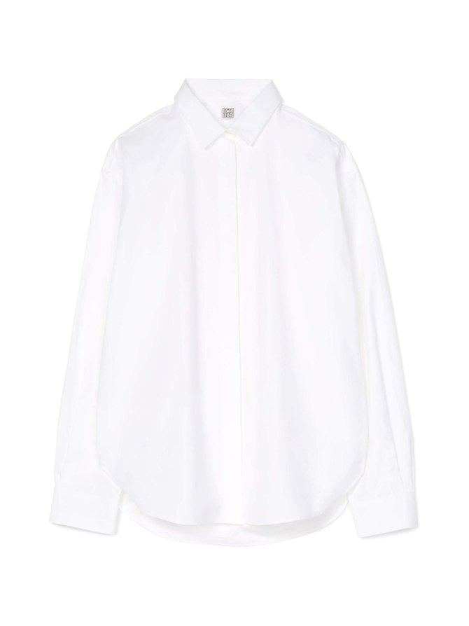 Lago Oversized Poplin Shirt -pusero