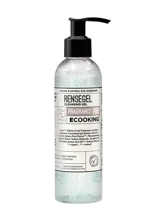 Ecooking - Cleansing Gel Fragrance Free -puhdistusgeeli 200 ml - NO COLOR | Stockmann - photo 1