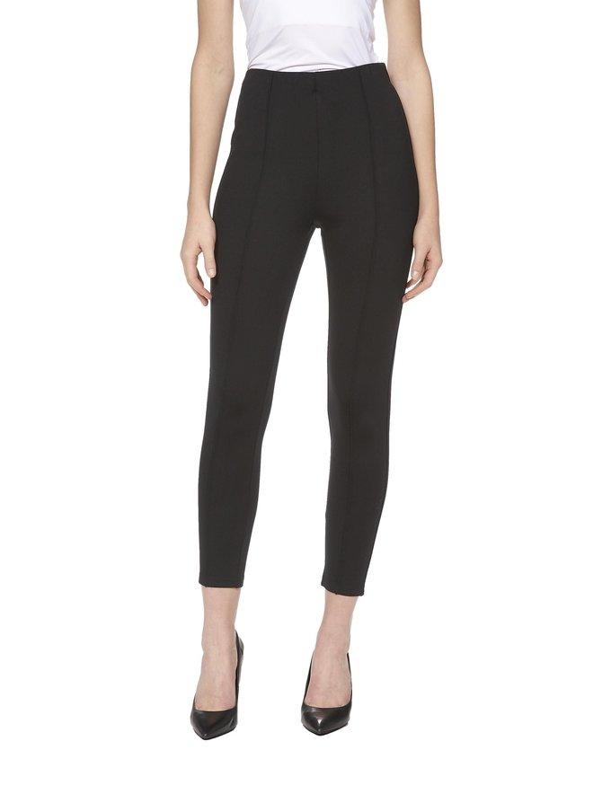 Front Seam Jersey Pants -housut