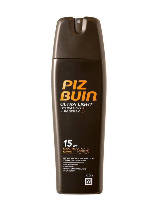 Piz Buin - Ultra Light Spray SPF15 -aurinkosuojasuihke 200 ml - null   Stockmann - photo 1