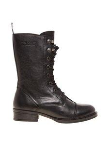 Ten Points - Pandora 3/4 boot -nahkakengät - 101 BLACK | Stockmann