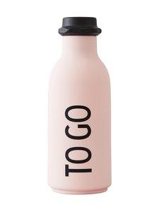 Design Letters - To Go -juomapullo 500 ml - PINK (VAALEANPUNAINEN) | Stockmann