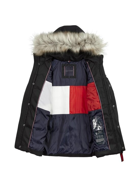 Tommy Hilfiger - Tech Parka -talvitakki - BDS BLACK | Stockmann - photo 3