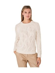 Repeat - Puuvillaneule - 1386 IVORY | Stockmann