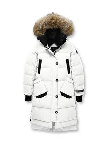 Canada Goose Black label - Aldridge Parka -untuvatakki - 828 SNOWCAP-COLIBRI À COIFFE BLANCHE | Stockmann