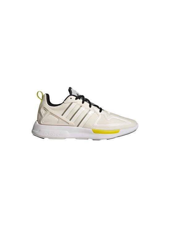 adidas Originals - W ZX 2K Flux -sneakerit - CHALK WHITE/CORE BLACK/FEATHER GREY | Stockmann - photo 1