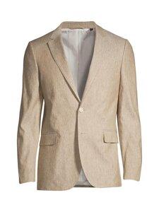 GANT - Stretch Linen Suit Blazer -bleiseri - 248 DARK KHAKI | Stockmann