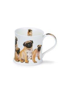 Dunoon - Wessex Designer Dogs Pugs -muki 0,3 l - MONIVÄRINEN   Stockmann
