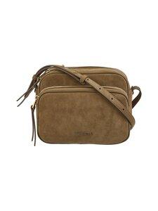 Coccinelle - Lea Suede Handbag Crossover -mokkanahkalaukku - G63 MOSS GREEN | Stockmann