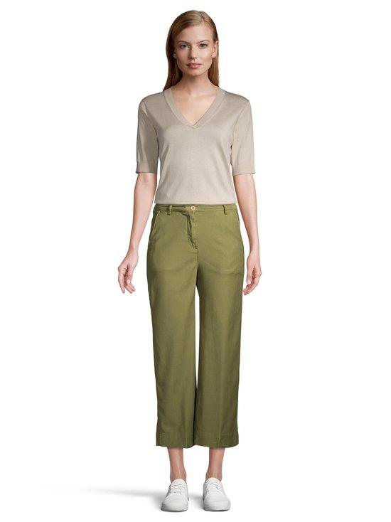 GANT - High Waist Summer Linen -housut - 365 OLIVE GREEN | Stockmann - photo 2