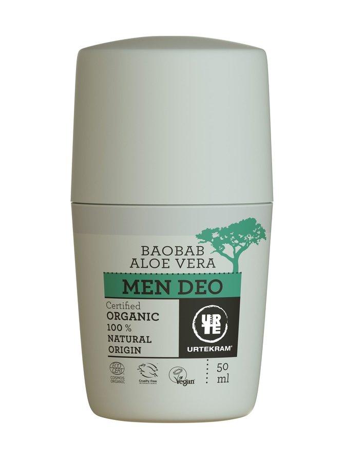 Men Baobab Aloe Vera -deodorantti 50 ml