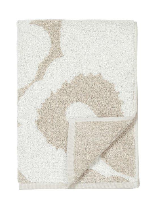 Marimekko - Unikko-käsipyyhe 50 x 100 cm - BEIGE, WHITE | Stockmann - photo 1