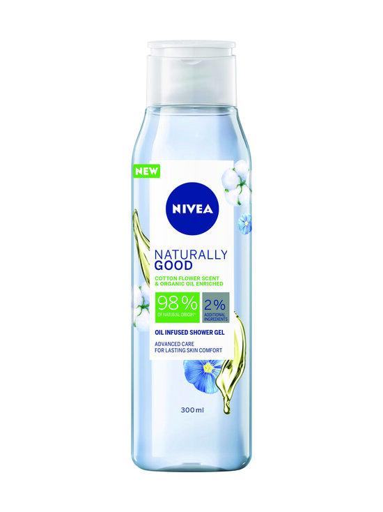 NIVEA - Cotton Flower Scent Oil Infused Shower Gel -suihkugeeli 300 ml - NOCOL | Stockmann - photo 1