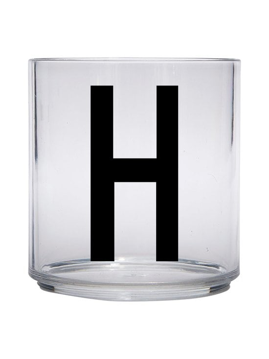 Design Letters - Kids Personal Drinking Glass -juomalasi, H - KIRKAS | Stockmann - photo 1