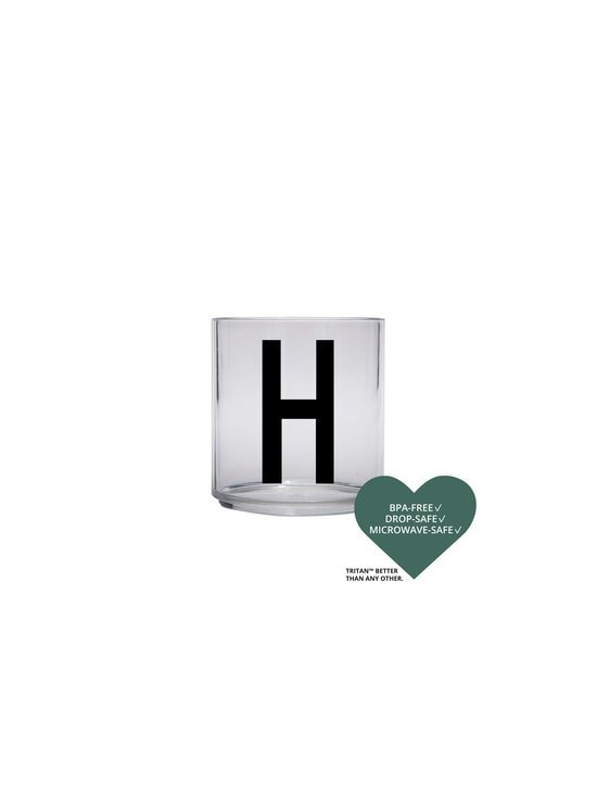 Design Letters - Kids Personal Drinking Glass -juomalasi, H - KIRKAS | Stockmann - photo 2