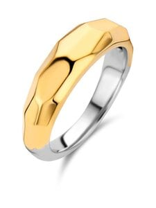 Ti Sento - Sormus - SILVER YELLOW GOLD PLATED | Stockmann