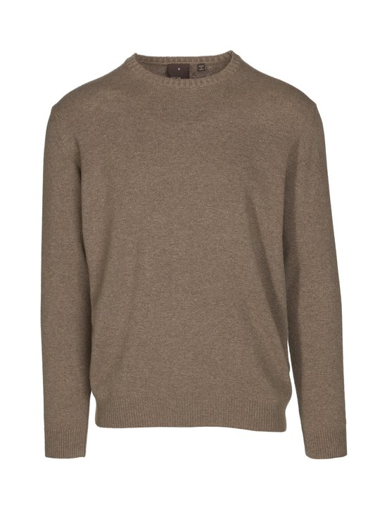 Oscar Jacobson - Valter Roundneck -neule - 406 BEIGE | Stockmann - photo 1