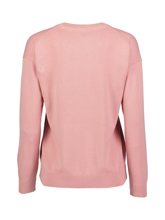 GANT - Logo Crew -puuvillaneule - 659 SUMMER ROSE | Stockmann - photo 2