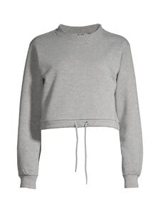 NA-KD - Glitter Sweater -paita - GREY 0008 | Stockmann