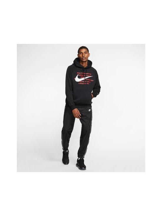 Nike - Swoosh Hoodie -huppari - 010 BLACK/WHITE | Stockmann - photo 9