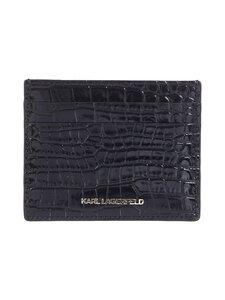 Karl Lagerfeld - K/Karl Seven Croc Classic -korttikotelo - A999 BLACK   Stockmann