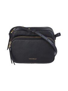 Coccinelle - Lea Handbag Crossover -nahkalaukku - 001 NOIR | Stockmann