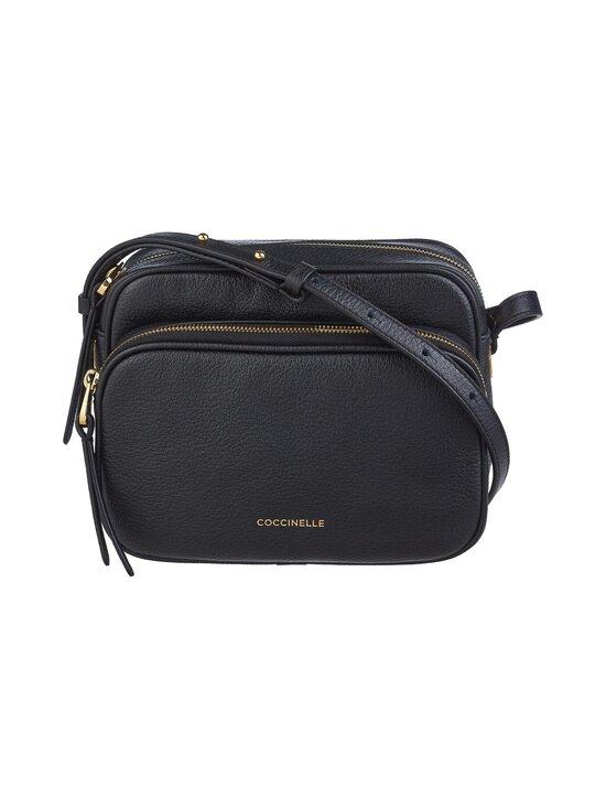 Coccinelle - Lea Handbag Crossover -nahkalaukku - 001 NOIR   Stockmann - photo 1