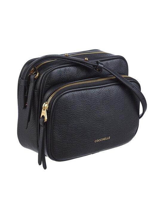 Coccinelle - Lea Handbag Crossover -nahkalaukku - 001 NOIR   Stockmann - photo 2