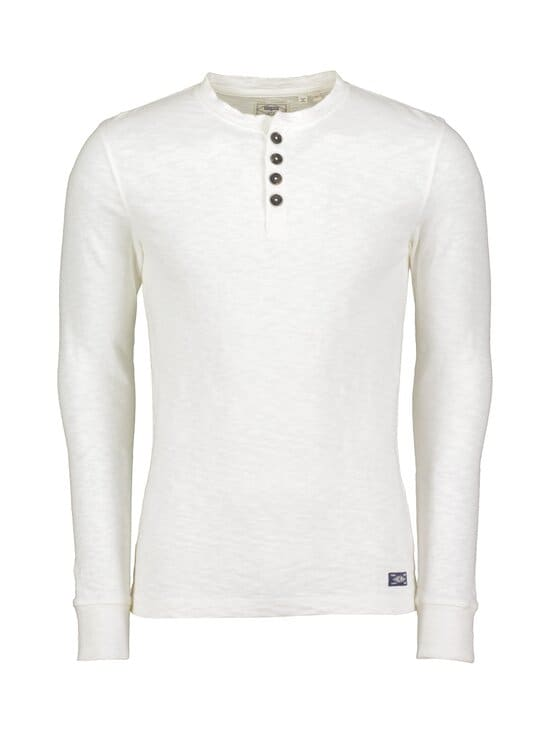 Superdry - Legacy LS Henley -paita - 22C CREAM | Stockmann - photo 1