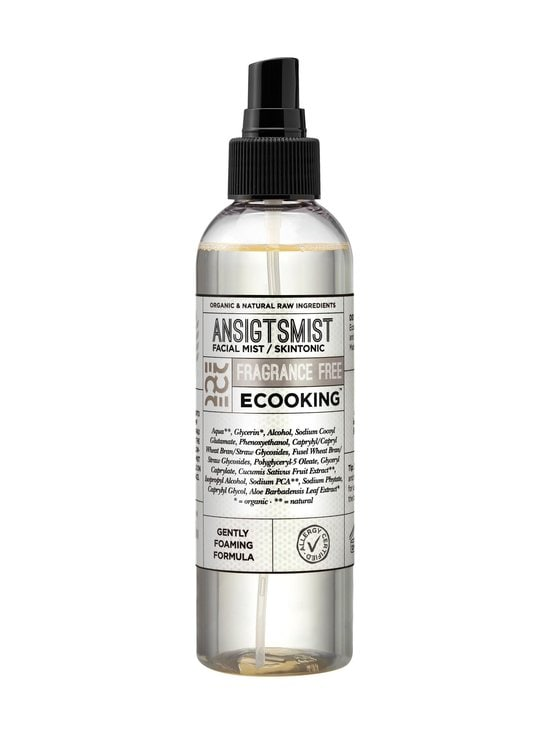 Ecooking - Face Mist Fragrance Free -kasvosuihke 200 ml - NO COLOR | Stockmann - photo 1