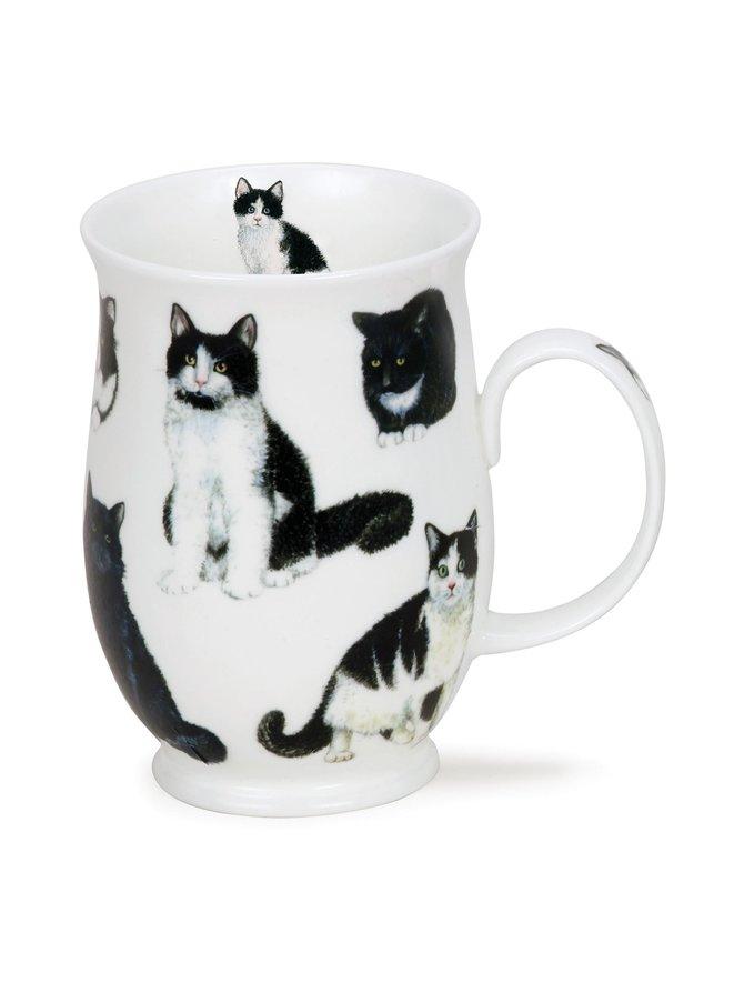 Suffolk Cats Black n' White -muki 0,31 l