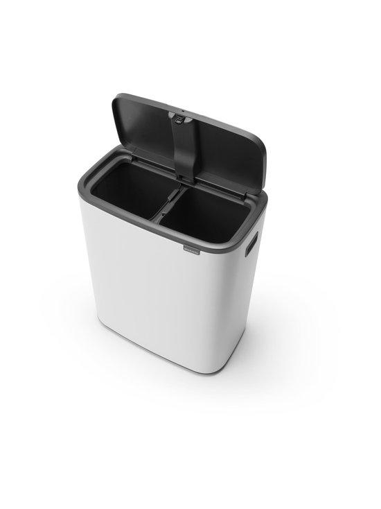 Brabantia - Bo Touch Bin -roska-astia 2 x 30 l - WHITE | Stockmann - photo 3