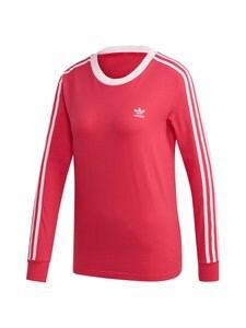 adidas Originals - 3 Stripes LS -paita - POWER PINK | Stockmann