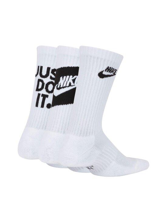 Nike - Everyday Cushioned -sukat 3-pack - 100 WHITE/BLACK | Stockmann - photo 2