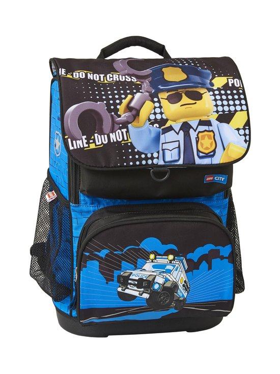 Lego - Optimo Schoolbag With Gymbag -reppu - 2003 - LEGO CITY POLICE COP | Stockmann - photo 1