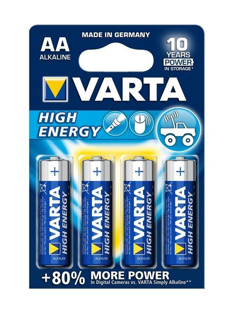 High Energy AA 1.5 V -paristo 4 kpl